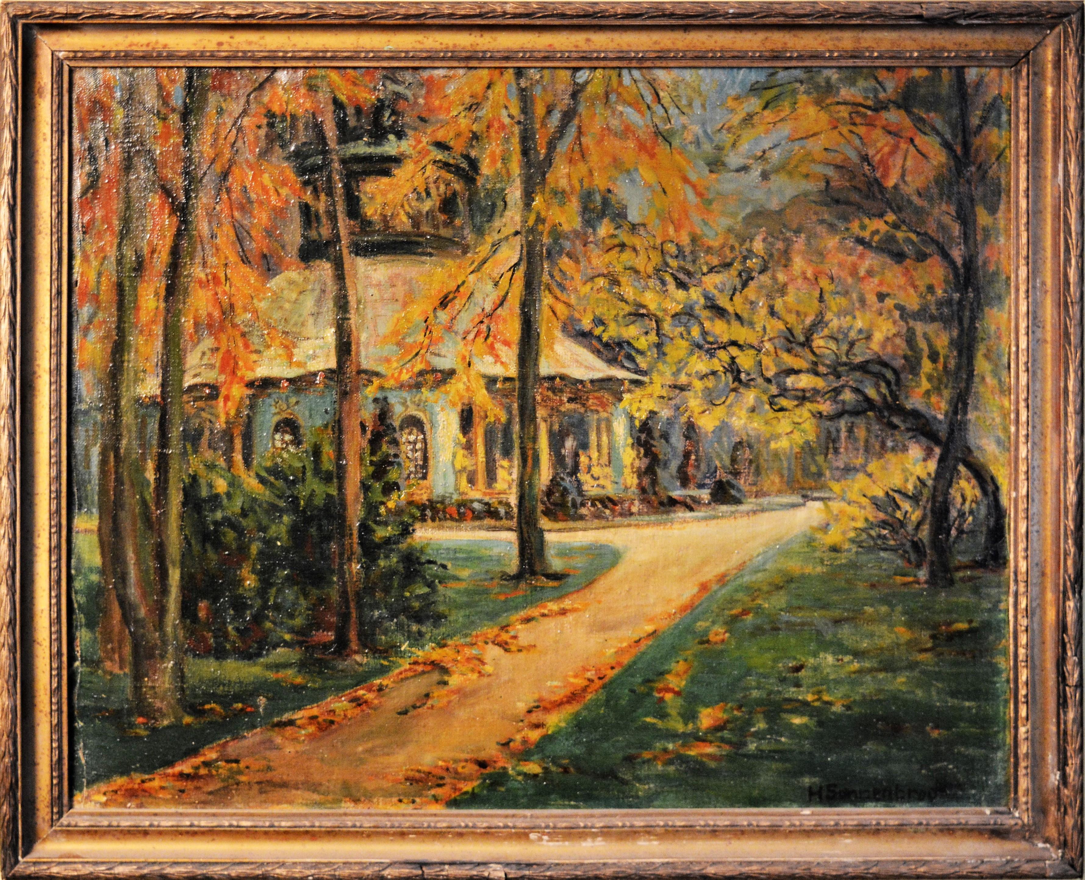 Helene Sonnenbrodt - Jesień w Sanssouci